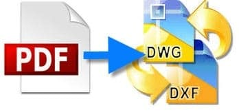 pdf to dwg conversion