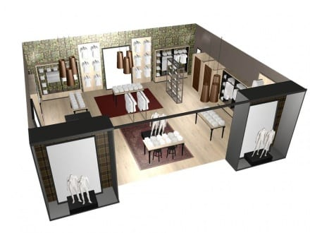 Retail space design and store planning services in australia for Commercial space design