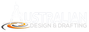 Australian Design and Drafting Services Retina Logo