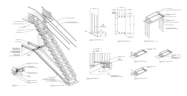 Structural 2D-3D Drafting
