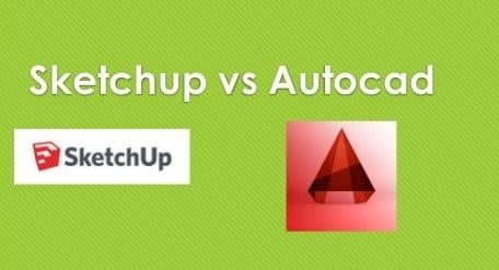 sketchup VS Autocad
